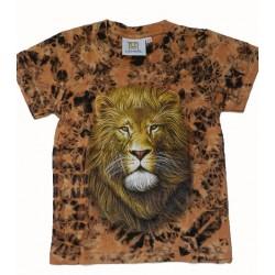 Tričko pro dospělé -bílý tygr, černá